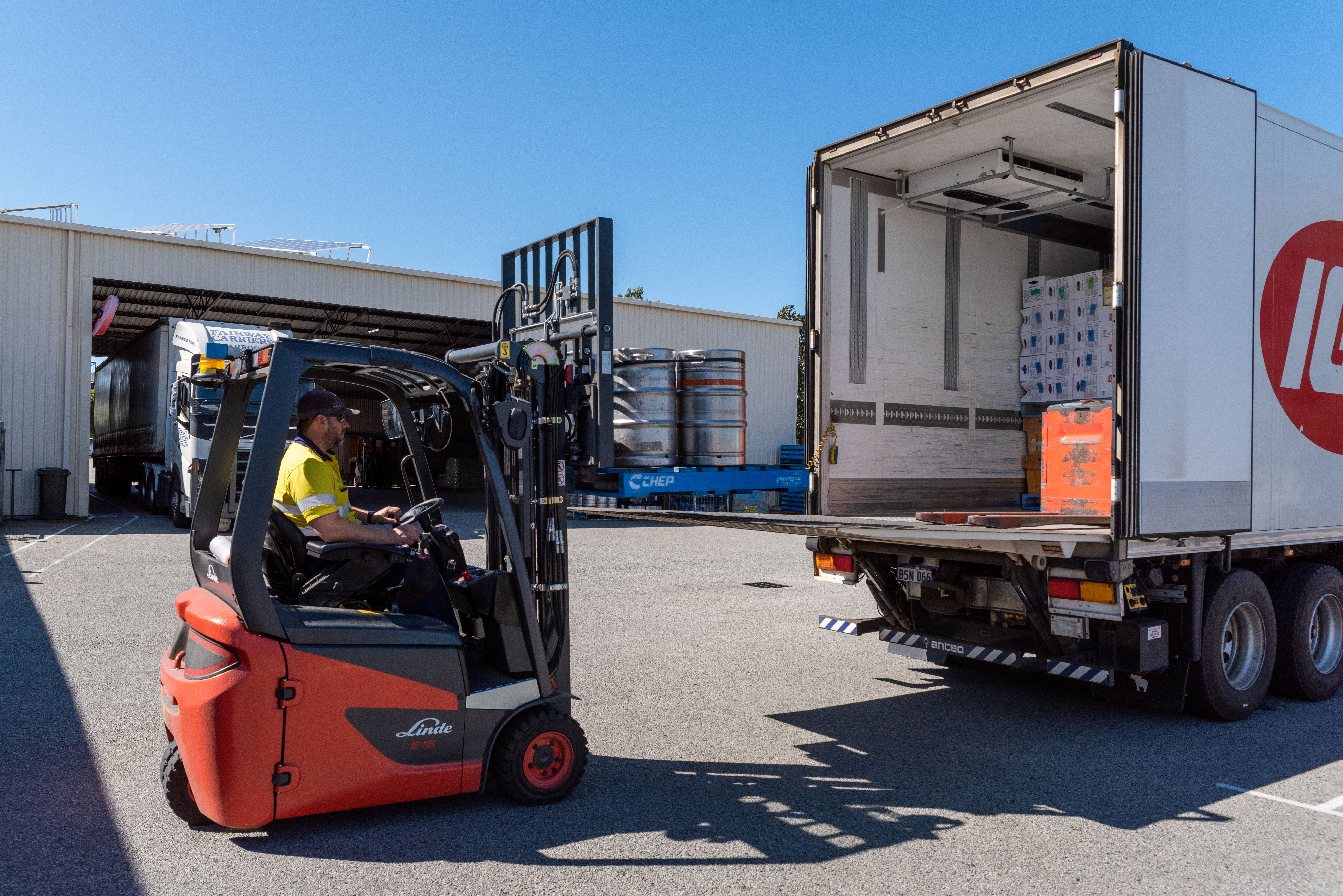 Temperature Controlled Transport | Busselton Freight Services